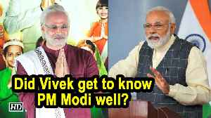 Did Vivek get to know PM Modi well? [Video]