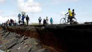 News video: Mozambique Survivors Recount Horrifying Aftermath Of Cyclone Idai