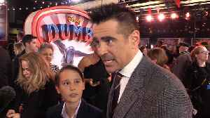 Colin Farrell on working with Tim Burton [Video]