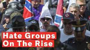 Southern Poverty Law Center: Number Of US Hate Groups Reaches Record High [Video]