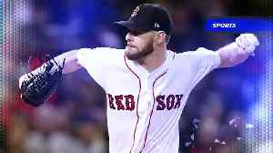 Pitcher Chris Sale Signs Contract Extension With the Red Sox [Video]