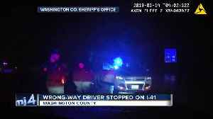 DASHCAM VIDEO: Wrong-way driver stopped on I-41 [Video]