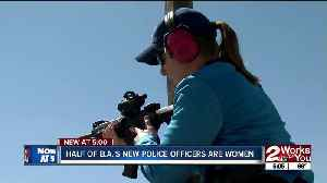 Half of B.A.'s New Police Officers are women [Video]