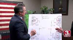 Web Extra: Bracketology with Don Bacon [Video]