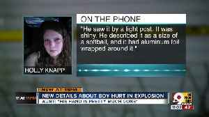 Oxford boy will be permanently disabled after explosion [Video]