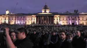 Hundreds gather in London for vigil to honour victims of New Zealand attack [Video]