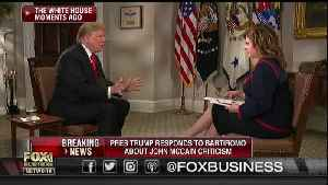 Maria Bartiromo to Trump: 'Mr. President, [McCain's] Dead. He Can't Punch Back' [Video]