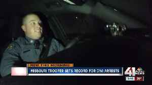Trooper in Jackson County continues to lead Missouri in number of DWI arrests [Video]