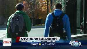 Consumer Reports: Tips on applying for college scholarships [Video]