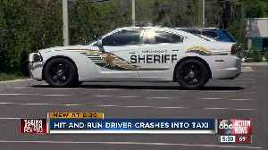 Hit-and-run driver hits taxi cab carrying elderly man in Tampa [Video]