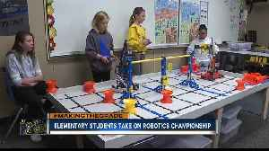 Four Joplin Elementary students head to robotics world championship in Kentucky [Video]