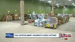 Salvation Army helps out flood victims in Omaha [Video]