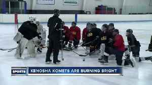 Kenosha Komets hockey team qualifies for nationals for the first time in 50 years [Video]
