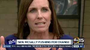 Senator McSally pushing for change to combat sexual assault in the military [Video]