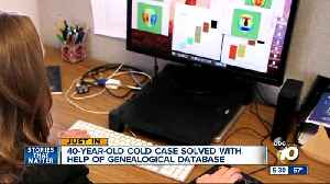 40-year-old San Diego cold case solved with help of genealogical database [Video]