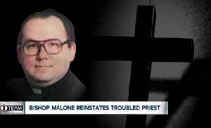 I-TEAM: Bishop Malone reinstates priest with history of pornography problems [Video]