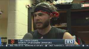 CBS13 Sports One On One With Giants Shortstop Brandon Crawford [Video]