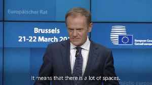 Donald Tusk warns against no-deal Brexit: There is a lot of space in hell [Video]
