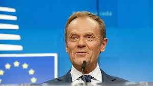 News video: Britain's time in Europe is running out but there's still room in hell, jokes Tusk