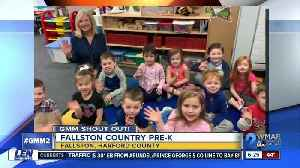 Good morning from Fallston Country PreK! [Video]