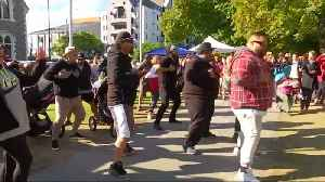 New Zealanders unite behind the power of the haka [Video]