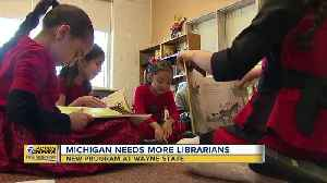 Wayne State launching new program for librarians aimed at increasing literacy [Video]