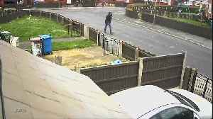 Delivery driver run over by her own van by thief [Video]