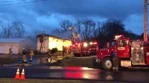 Web Extra: Crews Battle Mobile Home Fire In Worth Twp. [Video]