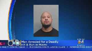 Arrest Made In Deadly Motorcycle Crash [Video]