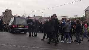 Guard of honour formed at funeral of St Patrick's Day party crush victim [Video]