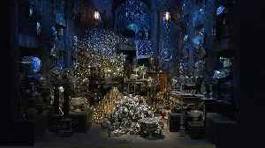 Watch: Harry Potter studio tour expands into banking with Gringotts set [Video]