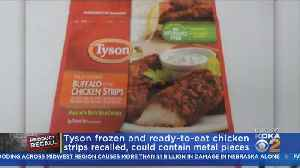 Tyson Foods Recalling 69,000 Pounds Of Chicken Products [Video]