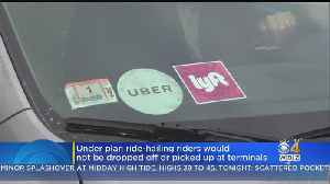 Passengers Might Not Like Uber, Lyft Changes At Logan Airport [Video]