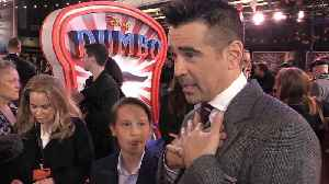 Colin Farrell and Finley Hobbins discuss Tim Burton's movies throughout the years [Video]