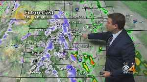 Rain And Snow Likely in Colorado on Friday [Video]