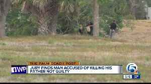 Man guilty of dismembering father, not murder [Video]