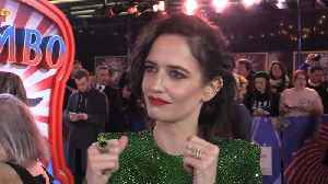 Eva Green on working with Tim Burton for the third time [Video]