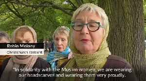 New Zealand women don headscarves in solidarity with Muslims [Video]