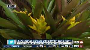 Local Botanical Garden holds Flower Show and Garden Market [Video]