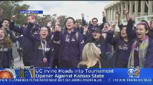 UCI Faces Off Against Kansas State In First Round Of NCAA Tournament [Video]