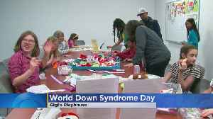 Families Come Together To Celebrate World Down Syndrome Day & Gigi's Playhouse's 6th Year [Video]