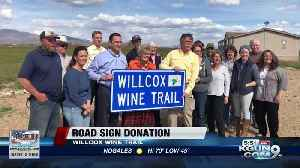Donation to Cochise Co. to help visitors find wine tasting rooms [Video]