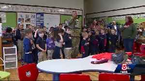 Army veteran visits preschool class that paid tribute to vandalized monument [Video]