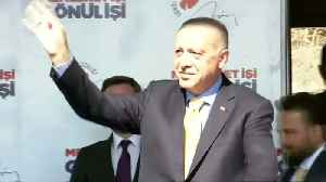 News video: Turkey's Erdogan again shows shooting video hours after meeting with New Zealand FM