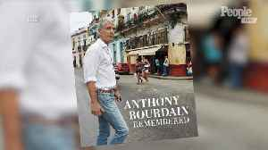 Anthony Bourdain Book That Was Originally a 'Keepsake' for His Daughter Will Be Published [Video]