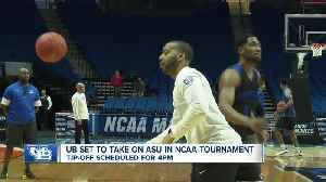 Horns up! Both UB Men's and Women's basketball teams are gearing up NCAA tournament [Video]
