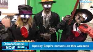 Spooky Empire brings horror fans a 'scream break' convention this weekend [Video]