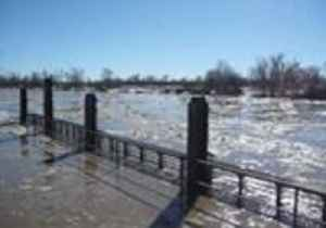 Ice Jam Triggers Flooding on Montana's Tongue River [Video]