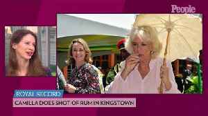Camilla, Duchess of Cornwall, Gets Her Royal Rum on as She Takes a Shot During Caribbean Tour [Video]