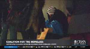 Interview: Coalition for the Homeless Policy Director Giselle Routhier [Video]